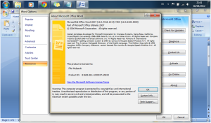 Download Microsoft Office 2007 Serial Number Aktivasi